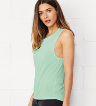 Bella + Canvas 8803 Women's Flowy Scoop Muscle Tank