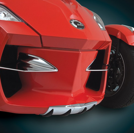 RT Chrome Wear Bar Accent (Front nose protection) 2010-13