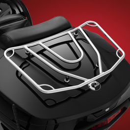 F3T and F3 LTD Chrome Luggage Rack (Fits the BRP Top Case)