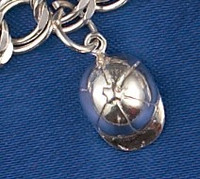 Sterling Silver Hunt Cap Charm or Pendant