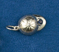 Sterling Silver Hunt Cap Charm or Pendant.