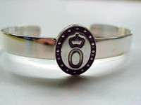 Sterling Silver Oldenberg Breed Bangle Bracelet