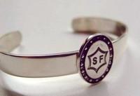 Sterling silver Selle Francais Breed Bangle Bracelet