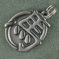 Sterling Silver Year of the Horse Charm or Pendant