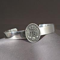 Thoroughbred Horse Breed Bangle Bracelet