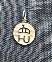 Sterling Silver Hungarian Horse Association Charm or Pendant