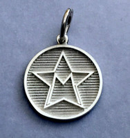 Sterling Silver Morgan Sport Horse Breed Charm or Pendant