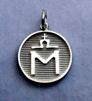 Sterling Silver Mecklenburg Horse Breed Charm or Pendant