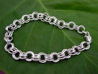 Sterling Silver Traditional Charm Bracelet