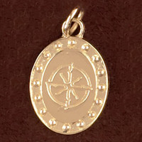 14K Gold Belgian Warmblood Charm or Pendant