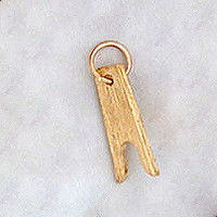 14k Gold Boot Jack Charm or Pendant