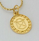 14k Yellow or White Gold Holsteiner Breed Charm or Pendant
