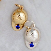 14k Gold Hunt Cap Charm or Pendant