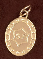 14k Gold Selle Francais Breed Charm or Pendant