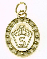 14k Gold Swedish Warmblood Breed Pendant or Charm