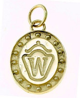 14k Gold Westphalian Breed Charm or Pendant