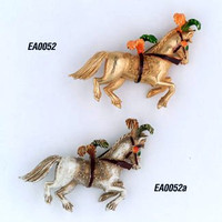Famous Vintage Golden Florenza Horse PIn  from The Circus Series.