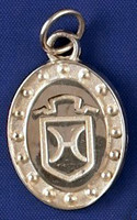 Sterling Silver Holsteiner breed Charm or Pendant