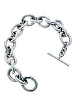 Solid Silver Link Designer Bracelet