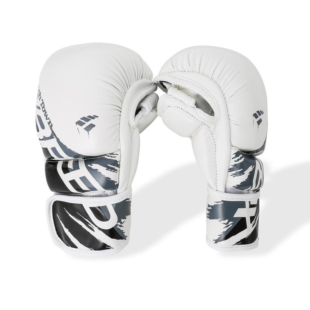 PunchTown xBreed KR Hybrid Gloves White/Black