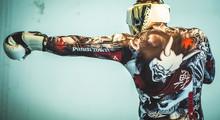 PunchTown Oni Battle Rash Guard