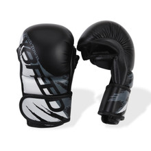 PunchTown xBreed MK3 Hybrid Gloves Black/White
