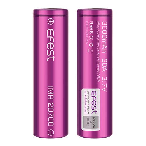 Efest IMR 20700 3000mAh 30A Battery