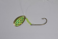 906 Outdoors Spinner Rig - Neon Green Prismatic