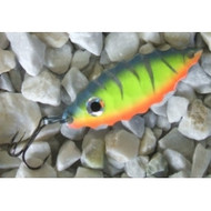 RJ Lures Shimmy Spoon - Steel Tiger