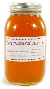 Jasper's Pure U.P. Honey - Quart