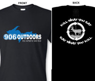 906 Outdoors U.P. T-Shirt Black - Kill What You Eat