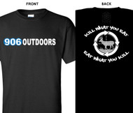 906 Outdoors T-Shirt Black Kill what you Eat