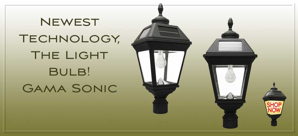Solar Garden Lights | Solar Lamp Posts | Solar Landscape Lighting