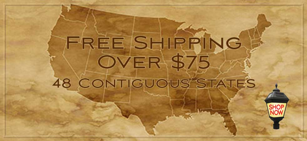 Free Shipping on Orders Over $75.