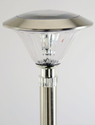 Stainless Steel solar path and walkway lights come in a set of 8.