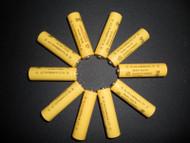 Solar Rechargeable Batteries 1.2V AA Ni-CD 600mAh, 10 Pack.