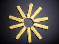 Solar Rechargeable Batteries 1.2V AAA Ni-CD 600mAh, 10 Pack.