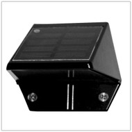 Solar Wall Mount Light with Finish Options and 2 Bright White LED.