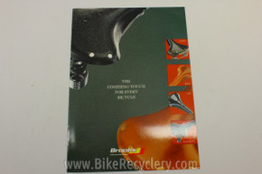 1990's Brooks England Saddle Catalog: B17 Swift Colt Conquest etc