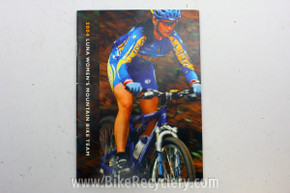2004 Luna Women's Mountain Bike Racing Team Brochure: Alison Dunlap, Marla Streb
