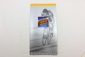 NOS Masi Bicycles Catalog: 1980's Gran Criterium, 3V Volumetrica, Nuova Strada FREE SHIPPING