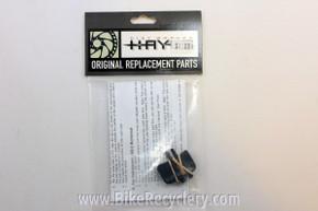 Hayes Brake Pads for Mechanical Disc Brake: Vintage G1/G2, HFX, HMX/MX-1, HFX-9  (pair)