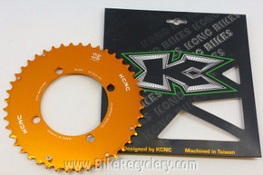 KCNC Blade MTB Chainring: 44t x 104mm 4-bolt BCD Orange / Gold Anodized NEW