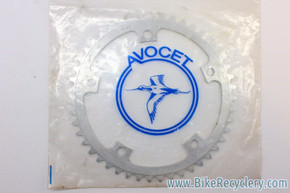 NIB/NOS Vintage Avocet Strada Chainring: 47T, 144mm BCD FITS CAMPAGNOLO NUOVO/SUPER RECORD