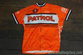 JETT IMBA Mountain Bike Patrol Jersey: Orange, Large