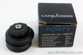 "NEW Cane Creek 40 Aheadset IS42 Short Headset: 1 1/8"" Threadless"