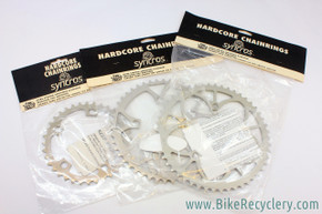 NIB/NOS Syncros Hardcore Chainrings: Vintage 1990's - 110mm BCD - Various Tooth Counts (36T, 46T, 50T)