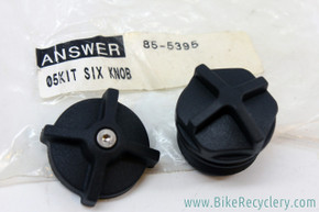 NIB/NOS 2005 Manitou Six Top Cap & Adjuster Knob (pair)