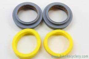 NOS Rockshox 30mm Wipers & Foam Rings: Duke - Psylo (pair)