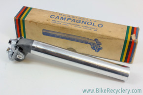 NIB/NOS Campagnolo Model Competition Brooks Record Narrow Rail Seatpost: 27.2mm - Model 1045